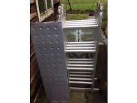 Versatile Multi Ladder with Platform - Brand New, never used