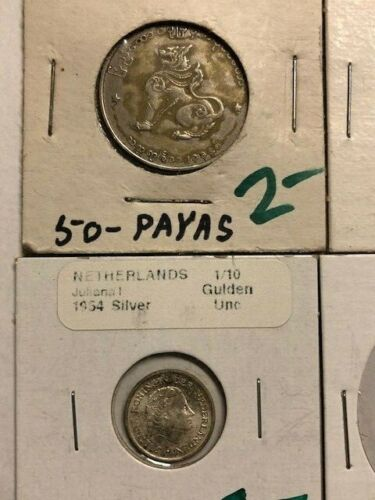 Lot of 12 - Different Foreign Coins - UNC