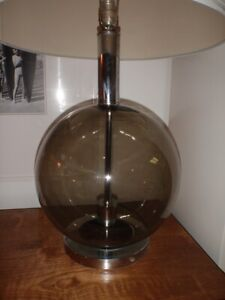 "Mid Century Modern Table Lamp -  31"" tall"
