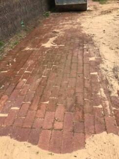 Brick Pavers FREE but collect before 25 September - 27 sqm