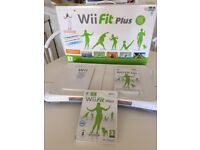 Wii Fit Plus, boxed