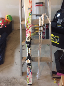 Kids Ski 130 with Bindings, poles and boots