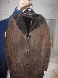 BRown Sheepskin Coat