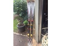 Rossignol Zenith Z1 Skis. 154cm. With Bindings. Excellent Condition. £50.