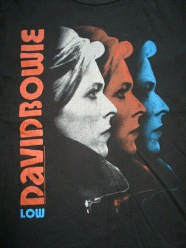 """2016 DAVID BOWIE """"Low"""" (MED) T-Shirt Ziggy Stardust and the Spiders from Mars"""