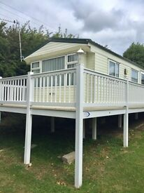 Stunning Static Caravan With Decking