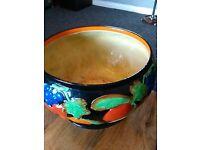 "9""fruit bowl .Sheila Gibbson hand painted"
