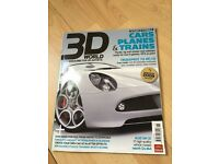 3D World Cars Planes & Trains Nov 2008 + Free CD