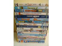 bundle 5; 17 Kids DVD, used condition
