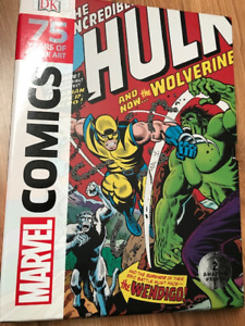 Marvel Comics 75 years of Cover Arts