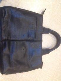Vintage Leataher Radley black bag & Leather black wallet