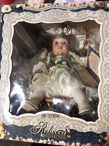 Rebecca Collection Limited Edition Collector Porcelain Doll
