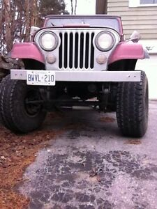 1979 Jeep CJ Convertible