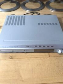 LG DVD PLayer and speaker System Model No LH-T550TB