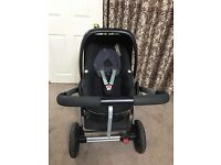 Maxi cosi car seat with Pushchaire