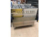 6 Ring Gas Range Cooker