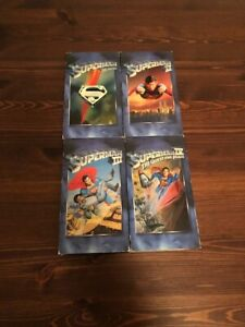 Superman VHS Tapes