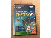 DVLA theory practice test CD for sale including hazard perception test