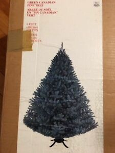 6ft tall pine Christmas tree