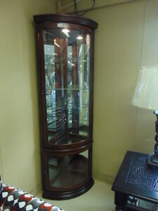 New Curio Cabinets For Sale