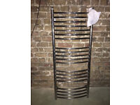 chrome bathroom ladder radiator
