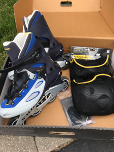 Roller Blades - Like new - high quality - Mens size  10 1/2