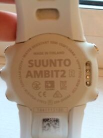Suunto Ambit R2 Watch for running, hiking, GPS, WHITE, as new