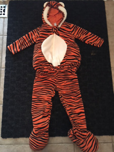 Halloween Costume- Tiger Size 4/5 $10.00 Firm
