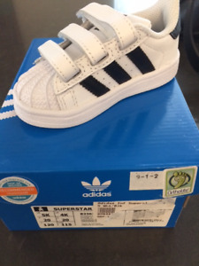 Brand New Adidas Superstar Shoes US size 5