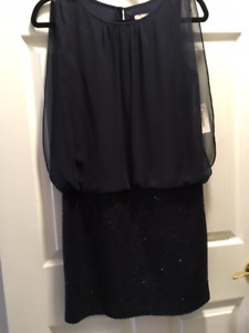 Navy Dress - size 4 NEW with tags