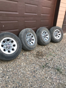 GM/Chev Rims and Tires