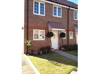 2 Bedroomed Modern Mews End Terraced House with Own Parking spaces and gardens