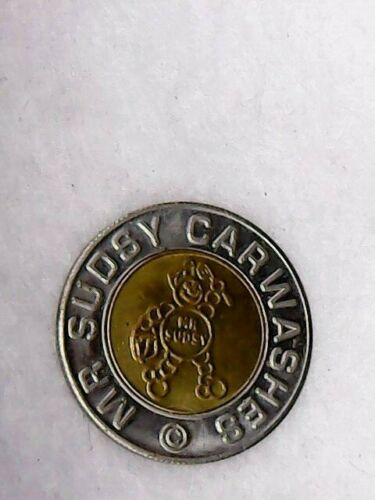 Vintage Mr. Sudsy Car Wash Token