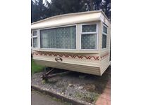 STATIC CARAVAN FOR SALE DOUBLE GLAZED AND CENTRAL HEATED - ONLY £4950!!