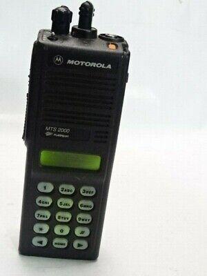 Motorola Mts2000 800mhz Model Iii Portable Two-way Radio H01uch6pw1bn