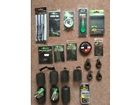 Various items of fishing tackle