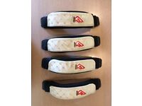 4 x Fanatic footstraps