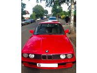 Amazing BMW E30 318i (1989) only 42,000 miles
