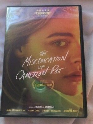 The Miseducation of Cameron Post (DVD,2018)**GREAT MOVIE MUST SEE***
