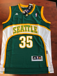 KEVIN DURANT – Seattle Supersonics Basketball Jersey – NEW SZ M