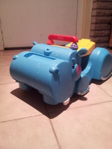 Baby Ride-in or Walk With Hippo Truck