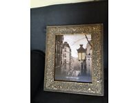 8 x 10 inches Ornate Metal Frame