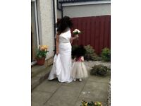 Stunning Lusan Mandongus Wedding dress, Size 10