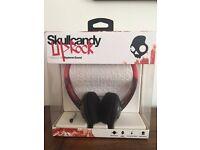 Skullcandy 'UPROCK' Headphones - red & black