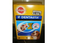 BNIB Pedigree DentaStix Dog Chews for Medium Dog 28 pk