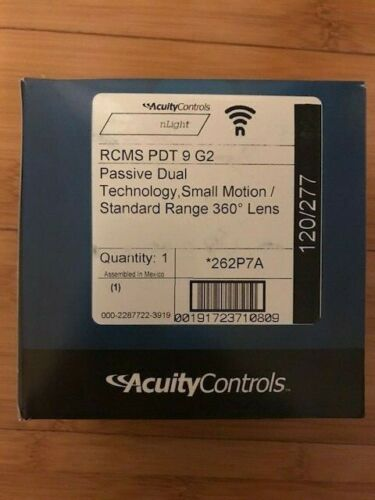 Acuity nLIGHT  RCMS PDT 9 G2 wireless ceiling sensor