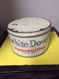 White Dove Marshmallows Tin