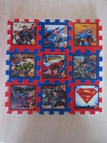 Superman Foam Mini Mats Puzzle