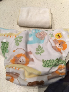 Cloth Bamboo Diaper with one insert