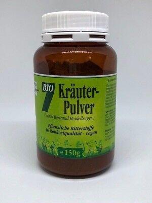 9,97€/100g | 7 Kräuter Pulver nach Bertrand Heidelberger . 150g Gesund & Leben